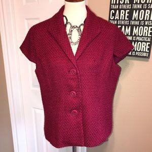 Nwot Coldwater Creek sz 18 Wool blend jacket 🌸